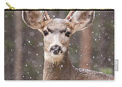 Snow Deer 1 Carry-all Pouch