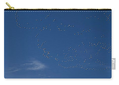 Snow Geese In Flight Carry-all Pouch