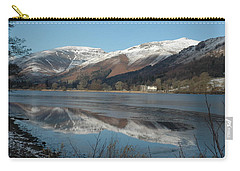 Snow Lake Reflections Carry-all Pouch