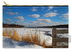 Snow Marsh Carry-all Pouch by Dianne Cowen