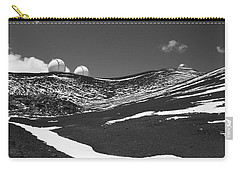 Snow On Mauna Kea Carry-all Pouch by Venetia Featherstone-Witty