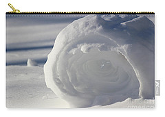 Snow Roller In Late Afternoon Carry-all Pouch