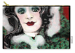 Snow White Winter Carry-all Pouch by Carol Jacobs
