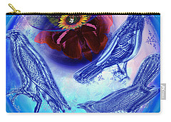 Snowbirds Flock To Eternal Spring Carry-all Pouch