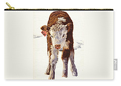 Country Life Winter Baby Calf Carry-all Pouch