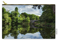 Snowdonia Summer On The River Carry-all Pouch by Beverly Cash