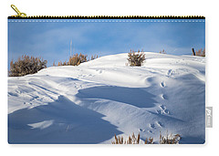 Snowdrifts Carry-all Pouch by Nadja Rider