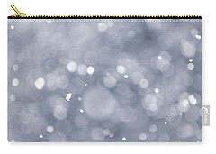 Snowfall  Carry-all Pouch by Elena Elisseeva