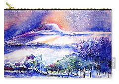 Snowstorm Over Eagle Hill Hacketstown  Carry-all Pouch