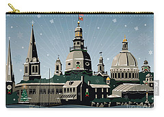 Snowy Annapolis Holiday Carry-all Pouch