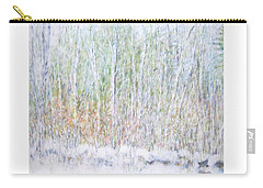 Snowy Landscape In New Hampshire Carry-all Pouch