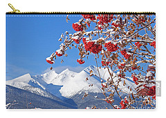 Snowy Mountain Ash Carry-all Pouch