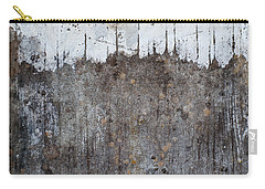 Carry-all Pouch featuring the photograph Snowy Mountain Top 2 by Jani Freimann