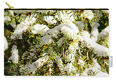Snowy Pines Carry-all Pouch
