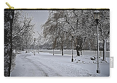 Carry-all Pouch featuring the photograph Snowy River by Deborah Klubertanz
