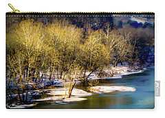 Snowy River Carry-all Pouch by Karen Wiles