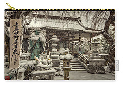 Snowy Temple Carry-all Pouch