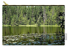 Carry-all Pouch featuring the photograph Snyder Lake Reflection by Kerri Mortenson