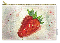 Carry-all Pouch featuring the painting So Juicy by Angela Davies