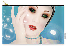 Soap Bubble Woman  Carry-all Pouch