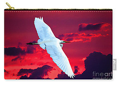 Carry-all Pouch featuring the photograph Soaring Heights by Adam Olsen