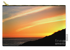 Carry-all Pouch featuring the photograph Socal Coastal Sunset by Clayton Bruster