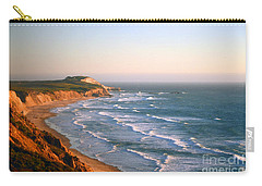 Carry-all Pouch featuring the photograph Socal Coastline Sunset by Clayton Bruster