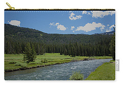 Soda Butte Creek Carry-all Pouch