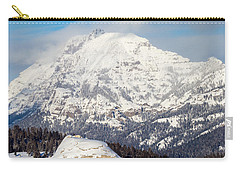 Carry-all Pouch featuring the photograph Soda Butte by Michael Chatt
