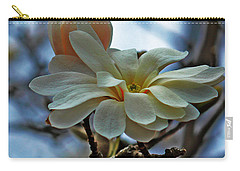 Carry-all Pouch featuring the photograph Soft Blooms by Rowana Ray
