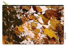 Carry-all Pouch featuring the photograph Soft Landing by Photographic Arts And Design Studio