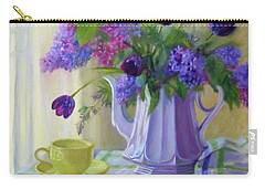 Soft Light Carry-all Pouch by Bonnie Mason