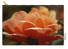 Soft Orange Flower Carry-all Pouch by Matt Harang