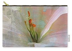 Soft Painted Lily Carry-all Pouch