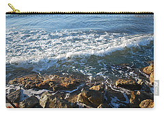 Soft Waves Carry-all Pouch by George Katechis