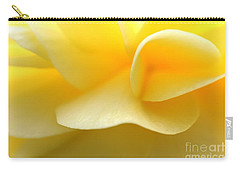 Soft Yellow Carry-all Pouch