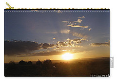 Solar Eclipse Sunset Carry-all Pouch