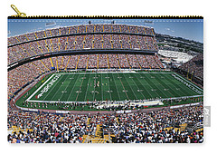 Sold Out Crowd At Mile High Stadium Carry-all Pouch