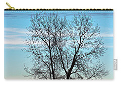 Carry-all Pouch featuring the photograph Soldier Creek Sunset by Michael Chatt