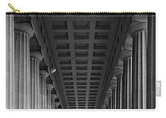 Soldier Field Colonnade Chicago B W B W Carry-all Pouch