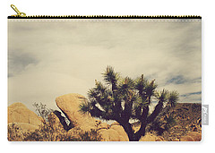 Solitary Man Carry-all Pouch by Laurie Search