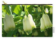 Carry-all Pouch featuring the photograph Solomon's Seal by Jolanta Anna Karolska