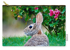 Carry-all Pouch featuring the photograph Some Bunny Loves You by Dee Dee  Whittle