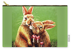 Some Bunny Loves You Carry-all Pouch