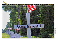 Carry-all Pouch featuring the photograph Some Gave All by Gordon Elwell