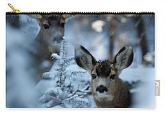 Carry-all Pouch featuring the photograph Somebody To Watch Over Me by Jim Garrison