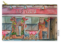 Someplace French Carry-all Pouch