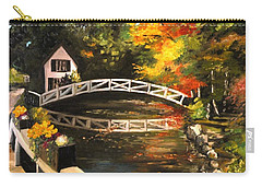 Somesville Maine Footbridge Carry-all Pouch