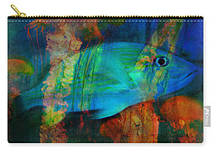 Something Fishy Carry-all Pouch by Erika Weber