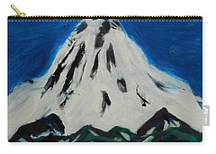 Somewhere Rainier Carry-all Pouch by David Trotter